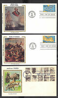 ASSORTED COLORANO FIRST DAY COVERS 32