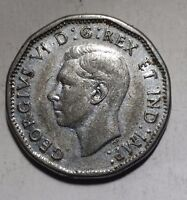 1945 5 CENT NICKEL CANADA COIN