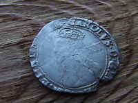 CHARLES 1ST  1625 1649.  SILVER SHILLING.  1633/34.  .