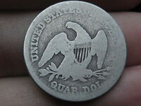 1839 SEATED LIBERTY QUARTER   TYPE COIN