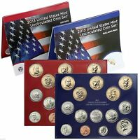 2013 UNITED STATES MINT UNCIRCULATED COIN SET U13 DENVER AND PHIILADELPHIA