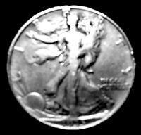 1935 D WALKING LIBERTY SILVER HALF DOLLAR   81 YEARS OLD AND STILL XF. FREE SH&I