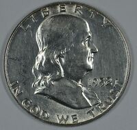 1952 P FRANKLIN SILVER CIRCULATED HALF DOLLAR SEE STORE FOR DISCOUNTSGR04