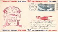 FAM F18-10C JUNE 24 1939 NEW YORK TO LANCASTER ENGLAND, PAN AMERICAN AIRWAYS