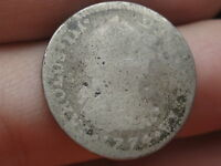 1774 MEXICAN 1 REAL  SILVER CAROLUS III OLD COLONIAL COIN