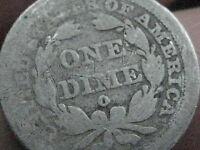 1843 O SEATED LIBERTY DIME   KEY DATE
