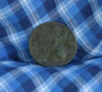 1730 GREAT BRITAIN COLONIAL 1/2 PENNY WORLD COIN BRITANIA SEATED UK ENGLAND C