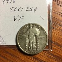 1928 STANDING LIBERTY QUARTER CHOICE VF PRICED TO SELL