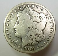 1879-S SILVER MORGAN DOLLAR $1 US COIN ITEM 10773