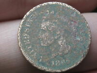 1865 INDIAN HEAD CENT PENNY- METAL DETECTOR FIND?