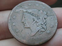 1836 MATRON HEAD LARGE CENT PENNY