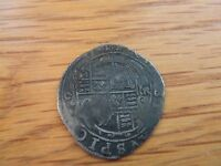 CHARLES 1ST  1625 1649.  SILVER SIXPENCE.  1633/34.  .
