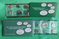 1993 UNITED STATES MINT UNCIRCULATED 10 COIN SET BU