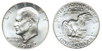 1972S IKE EISENHOWER SILVER PROOF  DOLLAR 40 SILVER  CP9948
