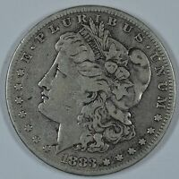 1883 S MORGAN SILVER DOLLAR   CIRCULATED SEE STORE FOR DISCOUNTS   RD56