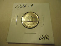 1986 P UNC. JEFFERSON NICKEL      >>COMBINED SHIPPING<<