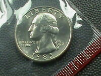 UNITED STATES    25  CENTS    1985     D      UNCIRCULATED