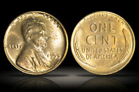 1953D LINCOLN WHEAT CENT - CHOICE BU - GREAT CONDITION