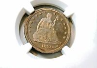 1880 LIBRTY STD 25C NGC PROOF 63 CHOICE PEDIGREED PROOF