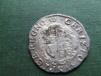 CHARLES 1ST  1625 1649.  SILVER SHILLING  1633/34.  SUPERB CONDITION.