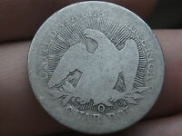1853 O SILVER SEATED LIBERTY QUARTER  ARROWS AND RAYS