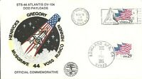 SPACE SHUTTLE ATLANTIS STS-44 KSC LAUNCH 11/24/91 & EDWARDS AFB LANDING 12/1/91