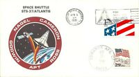 SPACE SHUTTLE ATLANTIS STS-37 KSC LAUNCH 4/5/91  & EDWARDS AFB LANDING 4/11/91