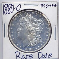 1880 O MORGAN DOLLAR  DATE US MINT GEM PQ SILVER COIN BU UNC MS