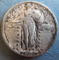1920 STANDING LIBERTY QUARTER SUPER GREAT COIN  TAKE A
