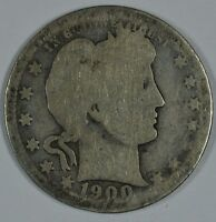 1900 O BARBER CIRCULATED SILVER QUARTER  SEE STORE FOR DISCOUNTS  RD56