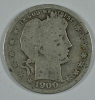 1900 BARBER CIRCULATED SILVER QUARTER  SEE STORE FOR DISCOUNTS  BL01