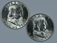 1962 P D FRANKLIN SILVER UNCIRCULATED HALF DOLLARS SEE STORE FOR DISCOUNT