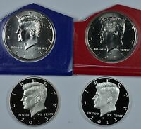 2013 P D S & S KENNEDY HALF DOLLARS MINT CELLO PROOF & SILVER PROOF  SHIPS FREE