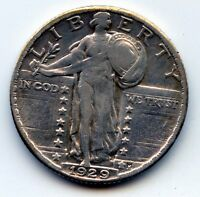 1929 P STANDING LIBERTY QUARTER SEE PROMO