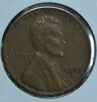 1955 D LINCOLN WHEAT CIRCULATED PENNY SEE STORE FOR DISCOUNTS  RD35