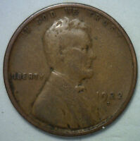 1922 D LINCOLN WHEAT CENT US COIN COPPER R