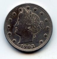1903-P LIBERTY HEAD NICKEL SEE PROMOTION