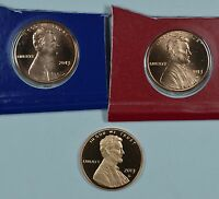 2013 P D & S LINCOLN PENNIES MINT CELLO & PROOF SHIPS FREE