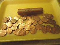 2008 P MOSTLY RED CIRCS ROLL OF CENTS            >>COMBINED SHIPPING<<