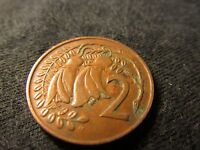 COIN NEW ZEALAND 2 CENTS 1973