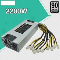 100V 260V POWER SUPPLY BITCOIN MINING PSU 1600W/2200W FOR ANTMINER R4/U3/L3 /S9