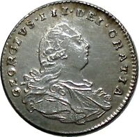 GREAT BRITAIN 1800 GEORGE III 1 PENNY SILVER COIN