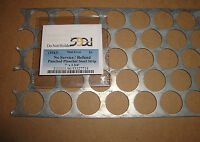 STEEL CENT WEBBING 40 HOLE PUNCHED PLANCHET STEEL STRIP PCGS MINT ERROR LABEL