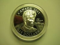2011 PROOF $15 CONTINUITY CROWN PRINCE HENRY  HARRY  WALES UHR CANADA COIN ONLY