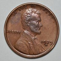 1929 D LINCOLN WHEAT CENT R/B  AU DETAILS SEE STORE FOR DISCOUNTS   OR07