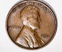 1931 LINCOLN CENT