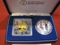 JAPAN GOLD COIN 2002 FIFA WORLD CUP COMMEMORATIVE 10 000 GOL
