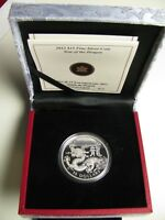 2012 PROOF $15 CLASSIC CHINESE 3 YEAR OF THE DRAGON CANADA .9999 SILVER FIFTEEN