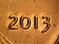 2013 P WDDO 008 LINCOLN CENT DOUBLED DIE