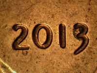 2013 P 1DO 008 WDDO 011 LINCOLN CENT DOUBLED DIE